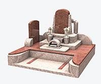 デザイン墓石セット