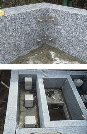 地震・衝撃に強い、耐震・耐衝撃施工